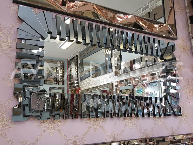 Crown Model Modern Ayna