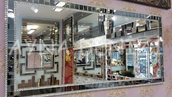 Stone Model Taşlı Ayna