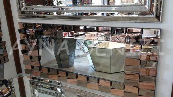 Yeni Dalgalı Model Modern Ayna