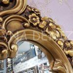 Klasik Model Altın Renk Boy Aynası-10