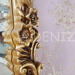 Klasik Model Altın Renk Boy Aynası-12