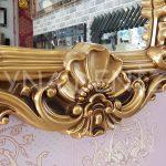 Klasik Model Altın Renk Boy Aynası-13