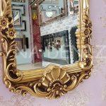 Klasik Model Altın Renk Boy Aynası-15
