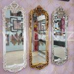 Klasik Model Altın Renk Boy Aynası-16