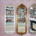 Klasik Model Altın Renk Boy Aynası-17