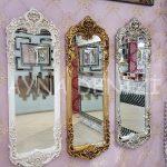 Klasik Model Altın Renk Boy Aynası-18