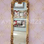 Klasik Model Altın Renk Boy Aynası-2