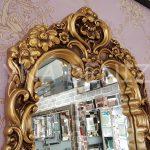 Klasik Model Altın Renk Boy Aynası-3