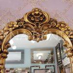 Klasik Model Altın Renk Boy Aynası-4