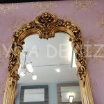 Klasik Model Altın Renk Boy Aynası-5