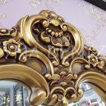Klasik Model Altın Renk Boy Aynası-7