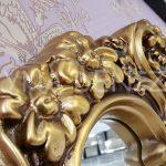 Klasik Model Altın Renk Boy Aynası-8