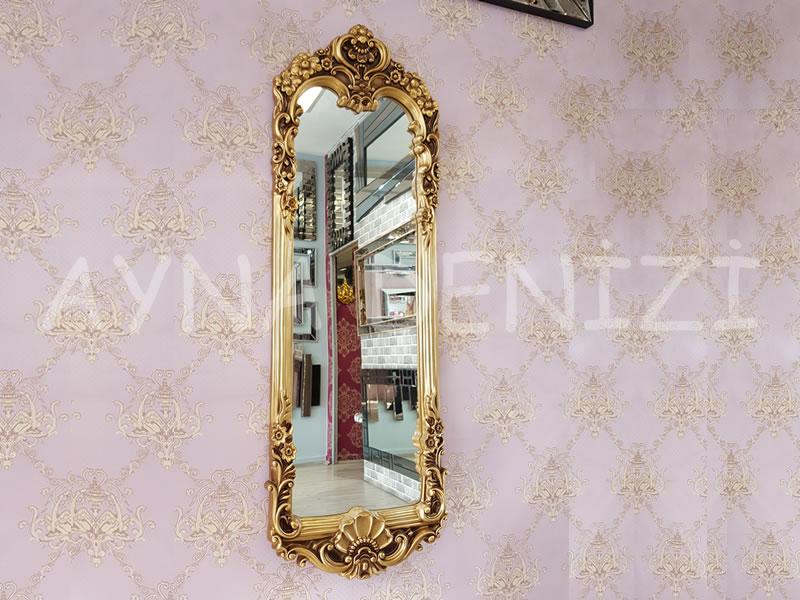 Klasik Model Altın Renk Boy Aynası
