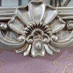 Klasik Model Gümüş Renk Boy Aynası-13