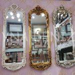 Klasik Model Gümüş Renk Boy Aynası-18