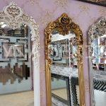 Klasik Model Gümüş Renk Boy Aynası-19