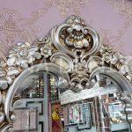 Klasik Model Gümüş Renk Boy Aynası-5