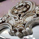 Klasik Model Gümüş Renk Boy Aynası-7