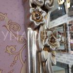 Klasik Model Gümüş Renk Boy Aynası-8