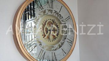 Cm 16012 Model Çarklı Aynalı Duvar Saati