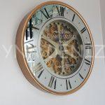 Cm 16214 G Model Aynalı Duvar Saati-1