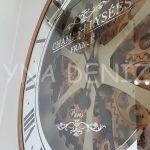 Cm 16214 G Model Aynalı Duvar Saati-11