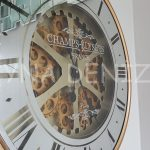 Cm 16214 G Model Aynalı Duvar Saati-14