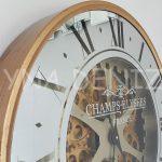 Cm 16214 G Model Aynalı Duvar Saati-15