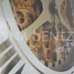 Cm 16214 G Model Aynalı Duvar Saati-18