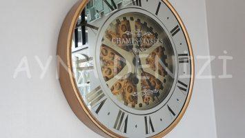 Cm 16214 G Model Çarklı Aynalı Duvar Saati
