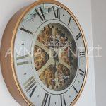 Cm 16214 G Model Aynalı Duvar Saati-4