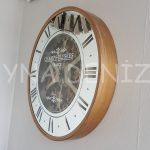 Cm 16214 G Model Aynalı Duvar Saati-6