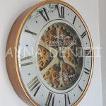 Cm 16214 G Model Aynalı Duvar Saati-7