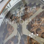 Cm 16214 G Model Aynalı Duvar Saati-8