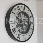 Cm 16214 Model Çarklı Aynalı Duvar Saati-1