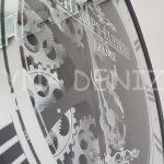 Cm 16214 Model Çarklı Aynalı Duvar Saati-10