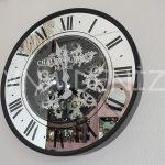 Cm 16214 Model Çarklı Aynalı Duvar Saati-2