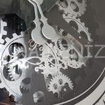 Cm 16214 Model Çarklı Aynalı Duvar Saati-24