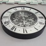 Cm 16214 Model Çarklı Aynalı Duvar Saati-3