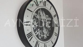 Cm 16214 Model Çarklı Aynalı Duvar Saati