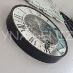 Cm 16214 Model Çarklı Aynalı Duvar Saati-4