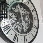 Cm 16214 Model Çarklı Aynalı Duvar Saati-6