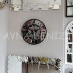 Cm 16214 Model Çarklı Aynalı Duvar Saati-8