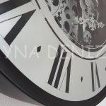 Cm 16214 Model Çarklı Aynalı Duvar Saati-9