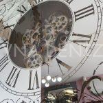 Cm 17310 Model Aynalı Duvar Saati-10
