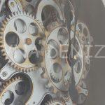 Cm 17310 Model Aynalı Duvar Saati-18