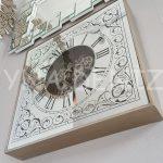Cm 17310 Model Aynalı Duvar Saati-3