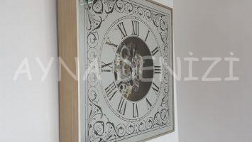 Cm 17310 Model Çarklı Aynalı Duvar Saati