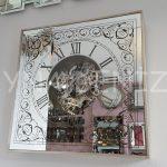 Cm 17310 Model Aynalı Duvar Saati-6