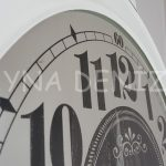 Tg 364 XL1 Ginza Model Aynalı Duvar Saati-12